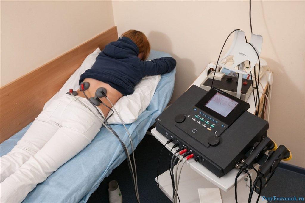 Физиотерапия при грыже