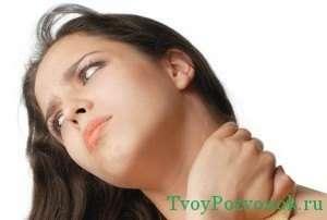 боли при остеохондрозе в шейном отделе