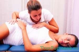 мануальная терапия при заболевании