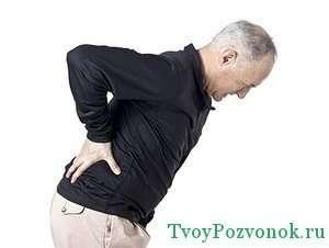 Острые боли при дорсопатии пояснично-крестцового отдела позвоночника