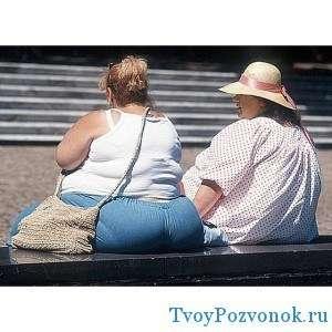 Ожирение - один из основных факторов сильной нагрузки позвоночника