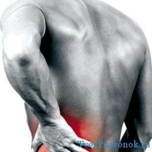 Возникновение боли в спине может предупреждать грыжу
