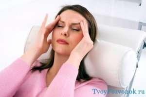 Головокружение - один из главных симптомов остеохондроза