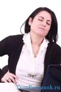 Одна из причин полисегментарного остеохондроза позвоночника - перегрузки