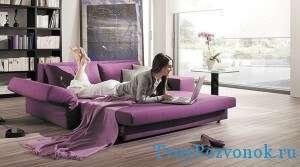 Диван аккордеон - удобство дивана и польза кровати