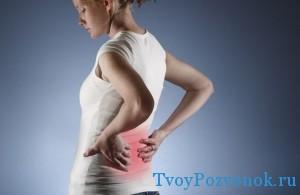 Почем болит спина при ходьбе