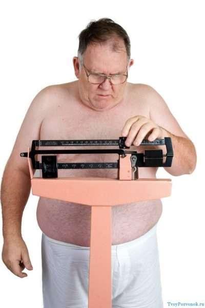 как похудеть пожилому мужчине