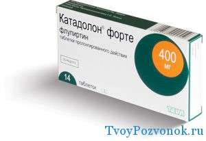 Катадолон в таблетках