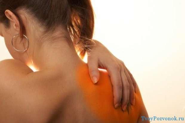 боли в лопаточной и плечевой области