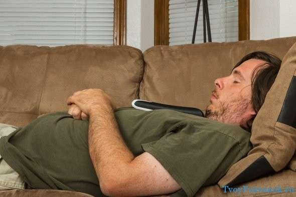 неправильное положение головы во время сна