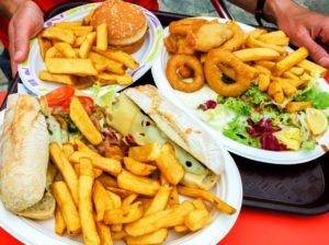 Пища содержит канцерогены