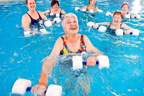 Гидрокинезотерапия для пожилых