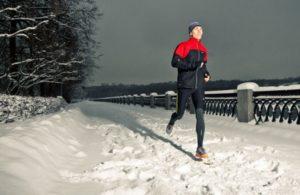 Спорт в холодную погоду