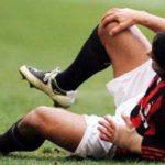 Падение на колено