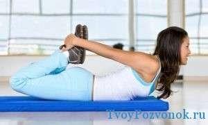 Выполнение упражнений при искривлении позвоночника