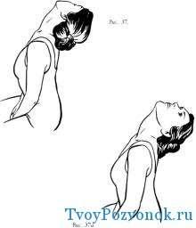 Запрокидывание головы назад