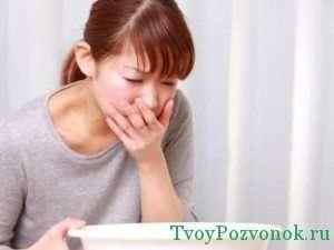 Тошнота и рвота при побочных эффектах