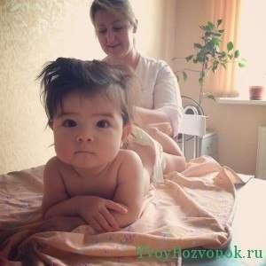 Для детей необходима более щадящая методика массажа