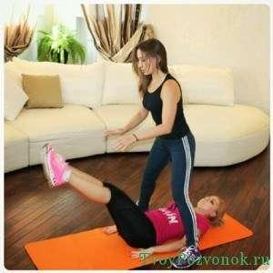 Физические упражнения лучше всего проводить с инструктором