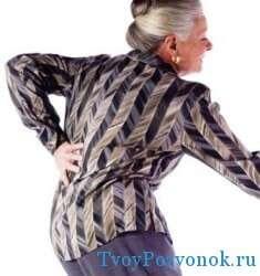 Острые боли при остеопорозе у женщин