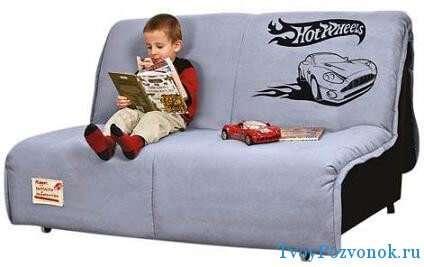 Детский диван с ортопедическим матрасом