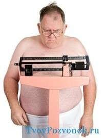 Одна из причин экструзии дисков - избыточный вес