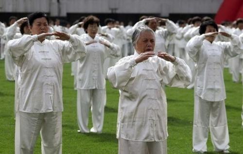 Гимнастика тайчи в Китае