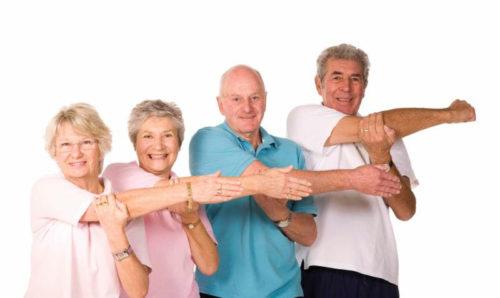 Зарядка для пожилых