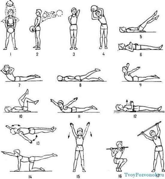 Легкие и эффективные упражнения