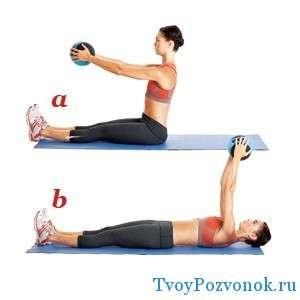Поднимание тела