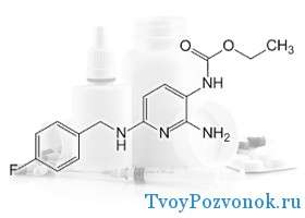 Цепочка препарата флупиртин