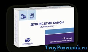 Дулоксетин - 14 капсул