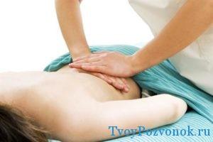 массаж поясничного отдела