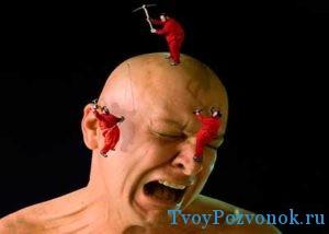стреляющая головная боль