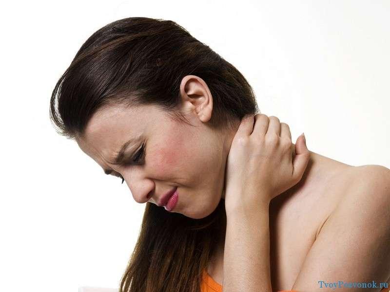 боль в шее и затылке