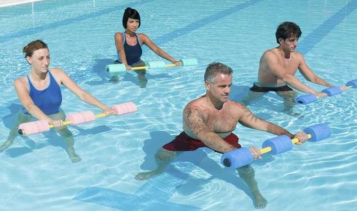занятия в бассейне - профилактика