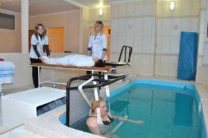 Аквагимнастика лечебная