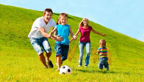 Спорт в семье